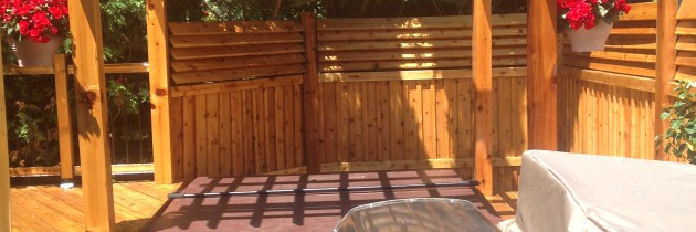 Beautiful Cedar Deck Stain